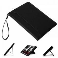 IPad Mini 4/3/2/1 Genuine Leather Case, Flip Folio [Kickstand Feature] Wallet Case Cover for Apple iPad Mini 1/Mini 2/Mini 3/Mini 4