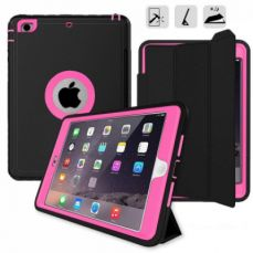 iPad mini 4 Case with Multiple Viewing Angles and Auto Sleep/Wake Function, Shockproof Protective Stand Folio Case Cover for iPad Mini 4