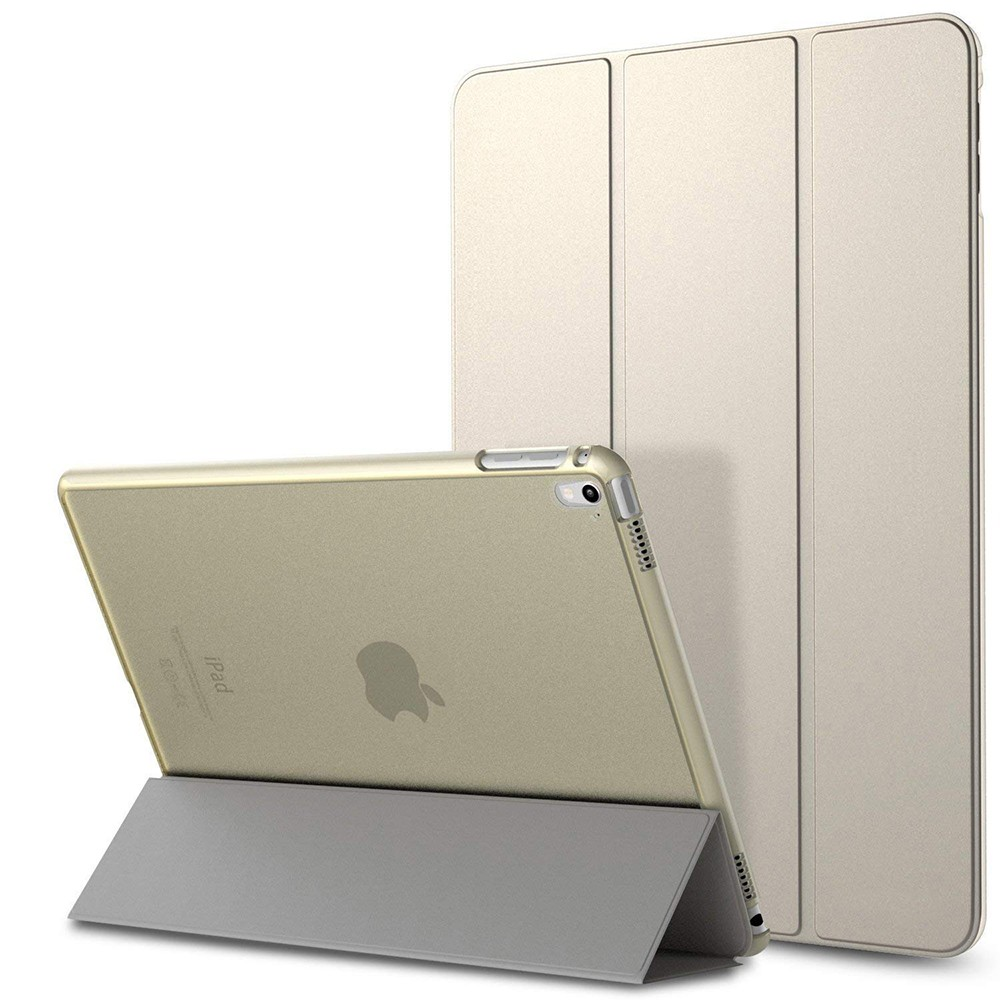 iPad mini 4 Case with Translucent Frosted Back and Auto Sleep/Wake Function, Ultra Slim Smart Cover Folio Case Stand for iPad Mini 4 7.9 inch 2015 Edition