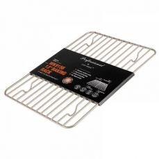 Oven-Safe Baking Rack & Cooling Rack, Rust-Resistant Roasting Rack Compatible with Various Baking Sheets Oven Pans, 8 x 12 inches