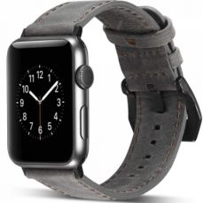 Apple Watch Replacement Band 38mm, Genuine Leather Strap with Adjustable Buckle for Apple Watch Series 3/2/1