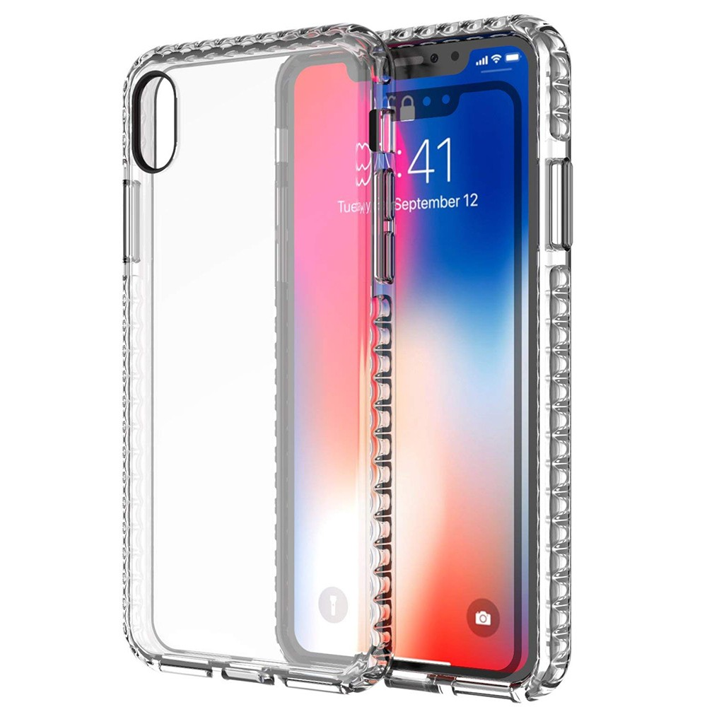 iPhone X/iPhone 10 Crystal Clear Case, Shock-Absorption Scratch Resistant Soft Protective Cover Case for iPhone X 2017 Release