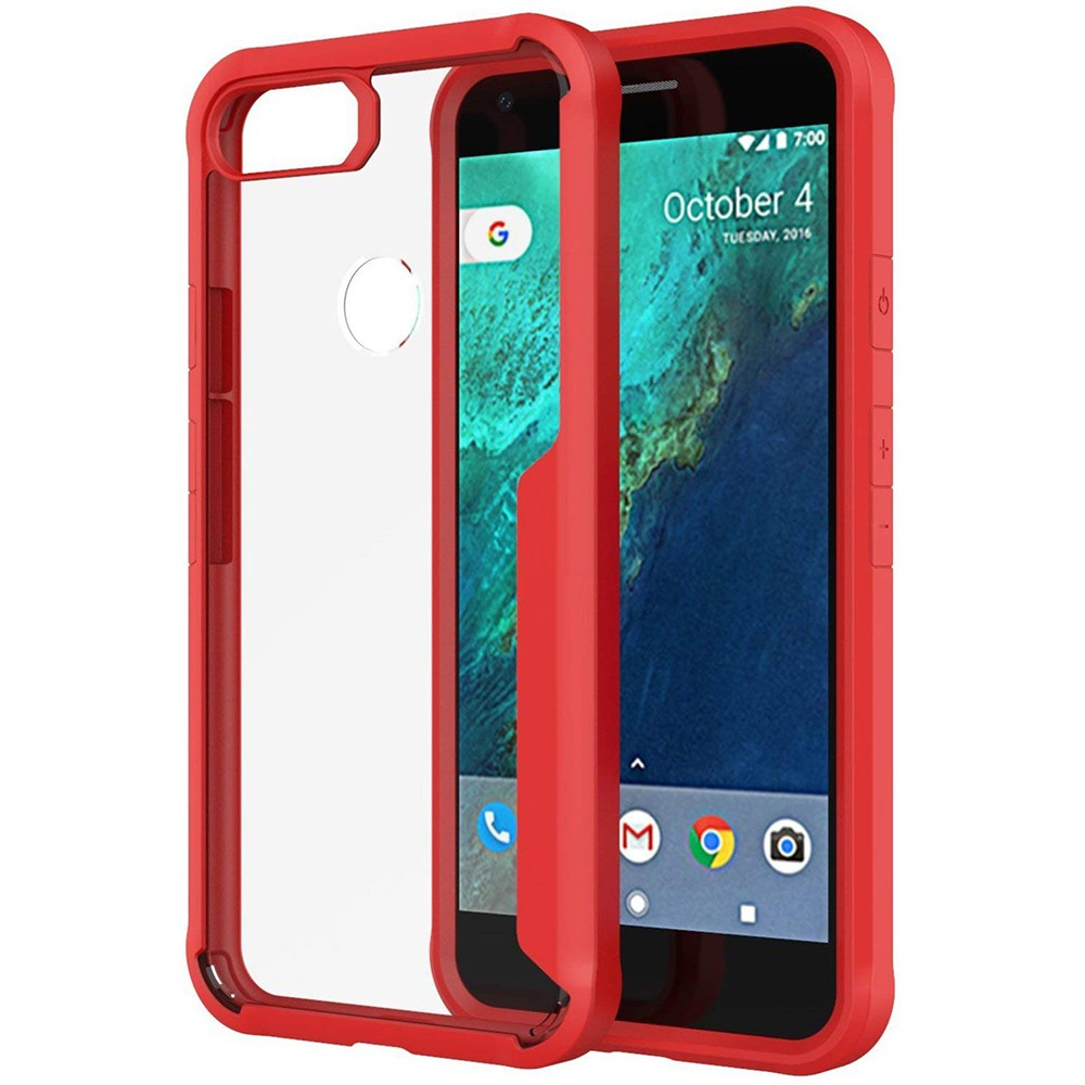 Google Pixel 2 Case, Slim Protective Dual Layer Cover Shockproof Armor Shield for Google Pixel 2 (2017 Release)