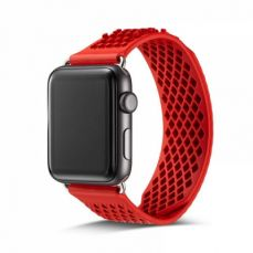 Soft Silicone Apple Watch Band, Sport Replacement Strap with Ventilation Holes for Apple Iwatch 42 mm All Models