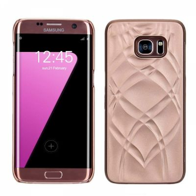 Galaxy S7 Edge Wallet Case With Mirror, Flip Case Cover with Card Slots & Stand for Samsung Galaxy S7 edge