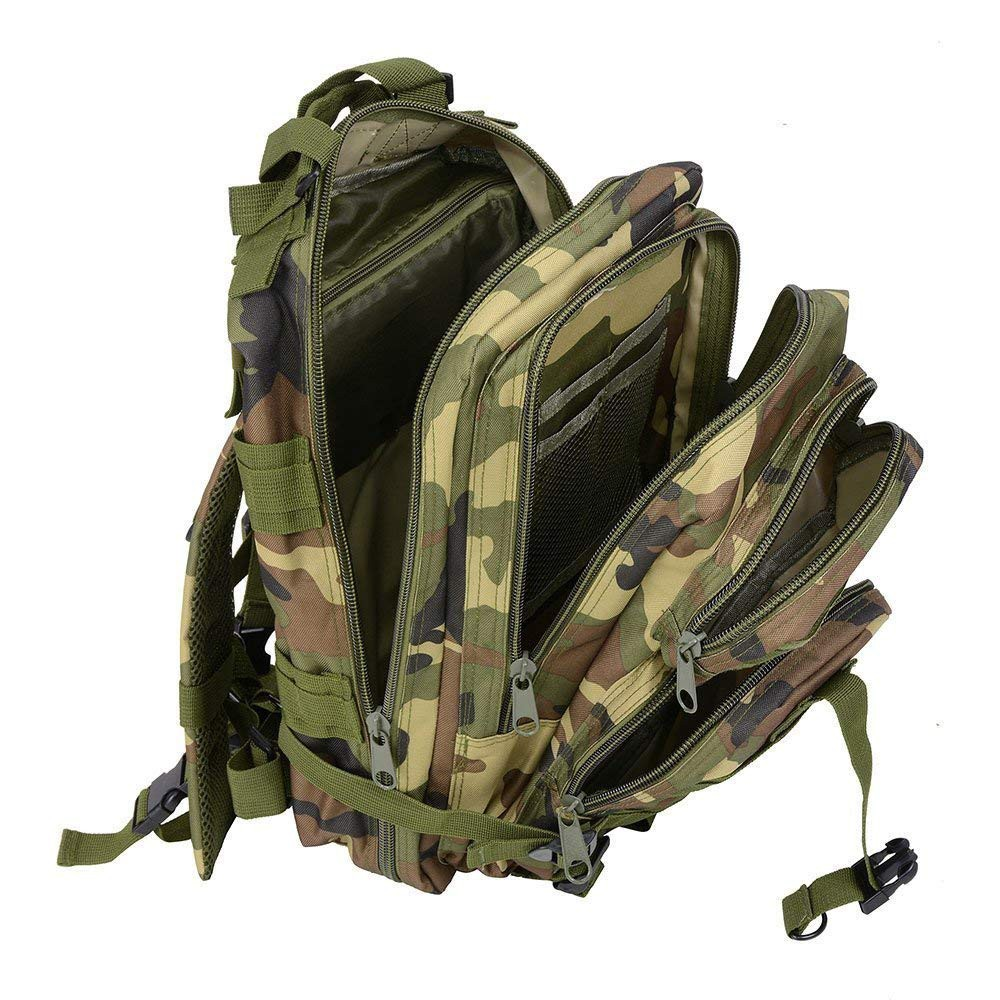 Waterproof Hiking Bag Trekking Bag, Outdoor 30L Military Rucksacks Tactical Backpack