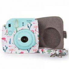 Instax Mini 9/ 8/ 8+ Protective Case, Pu Leather Camera Case Bag with Shoulder Strap for Fujifilm Instax Mini 8/8+ Mini 9 Instant Film Camera