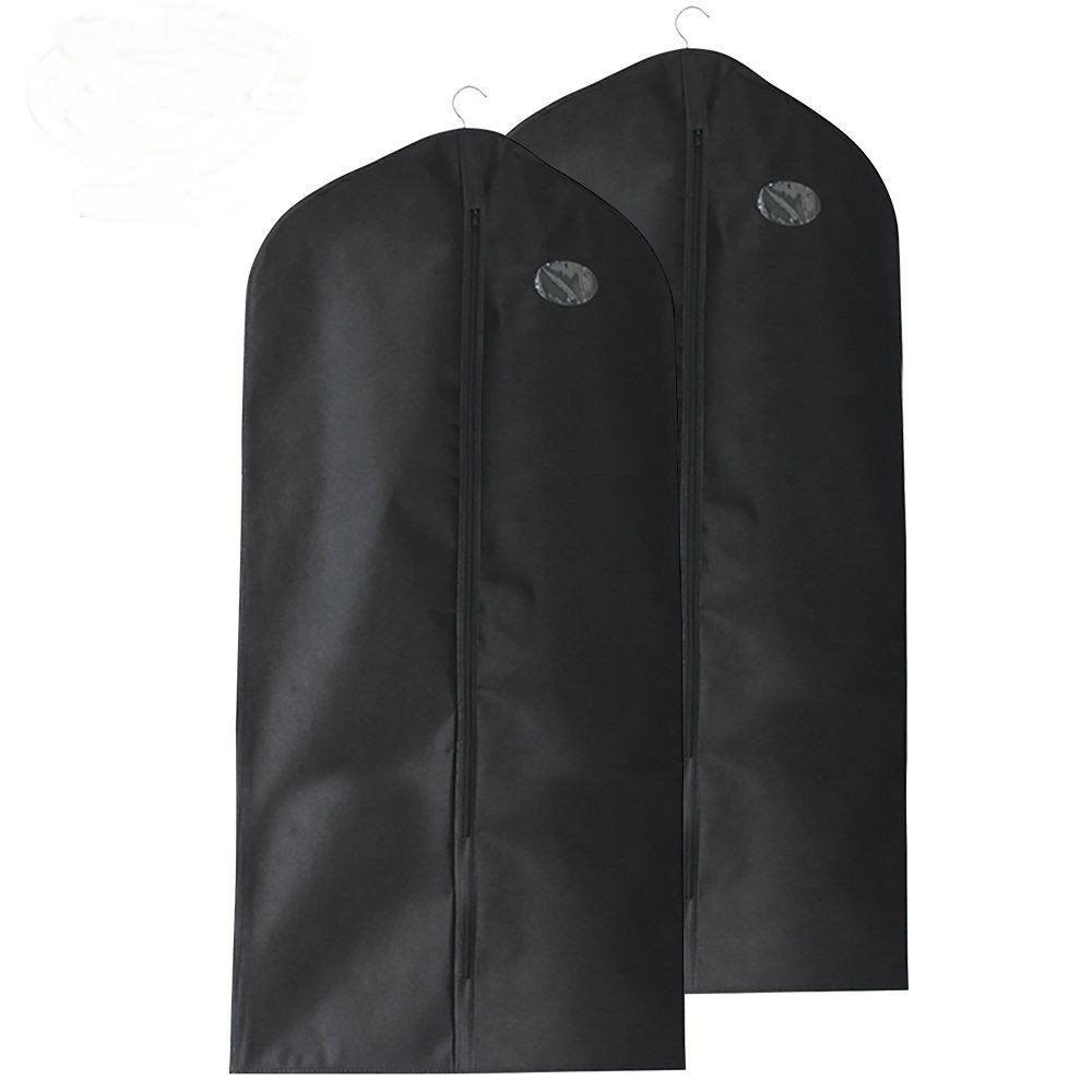 Dustproof & Mothproof Travel Garment Bag, Pack of 2 Breathable Suit Covers For Business Trip