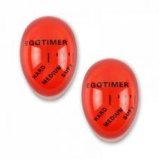 Color Changing Egg Timer, 2 Pack Food Grade Heat Sensitive Egg Timer