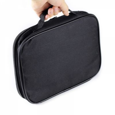 Tablets Accessories Black Case Cover for 7-9 inch iPad, Large Capacity Durable Hand Bag Briefcase Compatible for iPad Mini 4, iPad Mini 3, iPad Mini 2