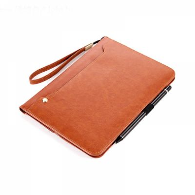 Leather Smart Stand Folio Business Wallet Case Cover for iPad 1/2/3/4 iPad Mini iPad Air 1/2