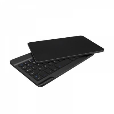 Universal Ultra-thin Wireless Bluetooth Keyboard for iPad, iPhone, Windows and Mac Computers, Android and iOS Tablets and Smartphones
