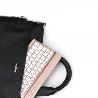 Universal Ultra-thin Bluetooth Keyboard Portable Wireless Bluetooth Keyboard forApple iPad Air 3/2/1, iPad Pro, iPad Mini 4/3/2/1, iPad 4/ 3/ 2, iPhone, Windows and Mac Computers, Android and iOS Tablets and Smartphones Available