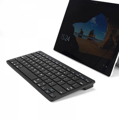 Universal Ultra-slim Bluetooth Keyboard Portable Wireless Bluetooth Keyboard forApple iPad Air 3/2/1, iPad Pro, iPad Mini 4/3/2/1, iPad 4/ 3/ 2, iPhone, Windows and Mac Computers, Android and iOS Tablets and Smartphones Available