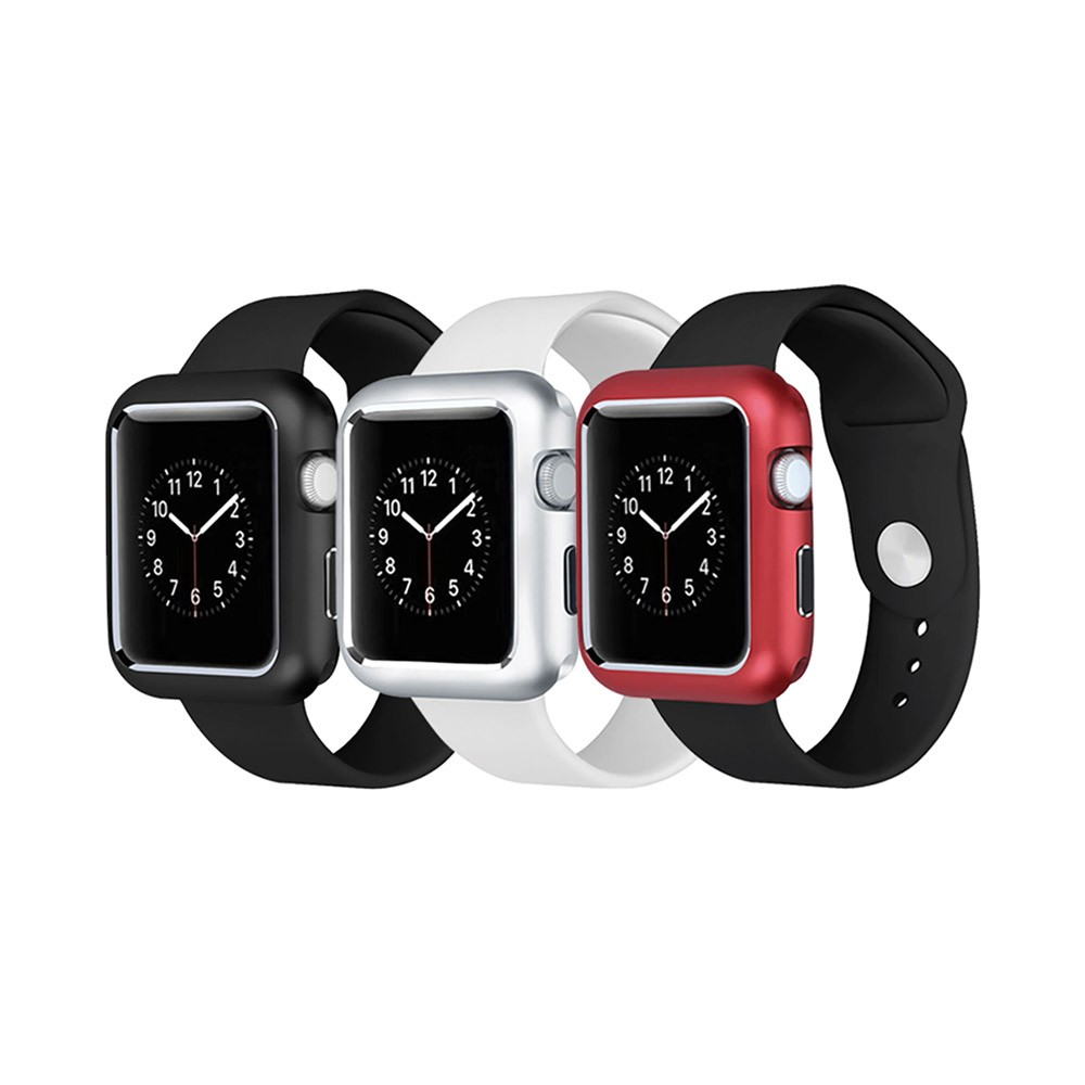 Premium Aluminum Protective Case Compatible with Apple iWatch, Hard Shell Anti-impact Anti-Scratch Cover for Apple iWatch