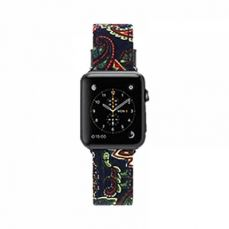 38mm 42mm Premium Fatigues Watch Band with Stainless Metal Buckle for Apple iWatch Replacement Strap