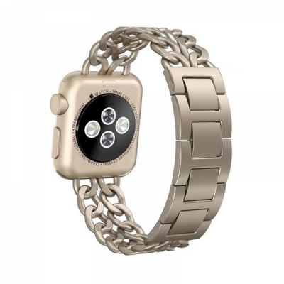 Stainless Steel Wristband with Removable Buckle for Apple iWatch 38mm, 42mm, 44mm Replacement Watch Strap
