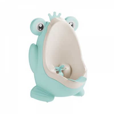 2 in 1 Unique Frog Toilet Trainer, Boys Toilet Training Standup Potty, Mini Hanging Closestool Potty Training