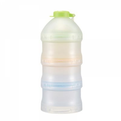 Portable Milk Powder Dispenser for Outdoors Shipping Travelling, 3 Layer Individual Food Organizer Case Snack Cups