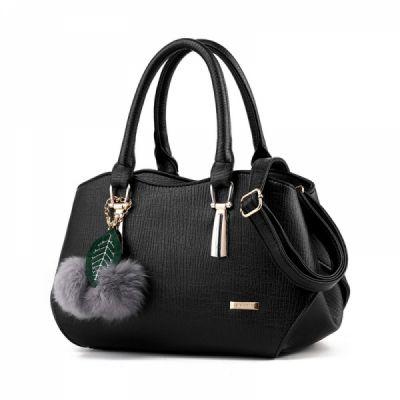 Sleek Elegant Handbag with Venonat Stylish Durable Women's Crossbody Bag with Shoulder Strap Soft Handbag with Aluminum Buckle & Zipper