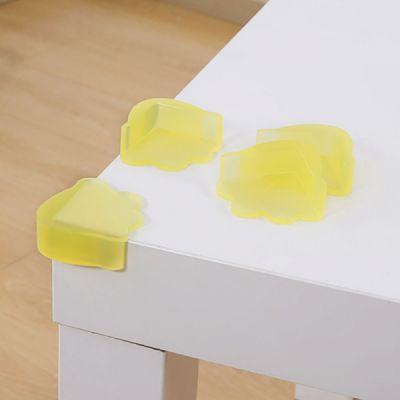 Universal Anti-impact Flexible Silicone Protective Cover for Windows Desks Tables Sharps Corner Soft Collision Prevention Corner Protector
