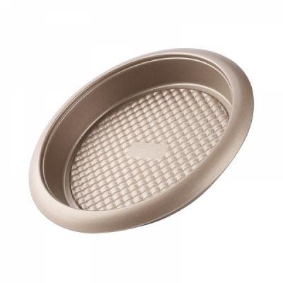 Universal Nonstick Deep Dish Pizza Pan, Food Grade Kitchen Baking Tray Premium Round Cake Baking Pans, 9 inch
