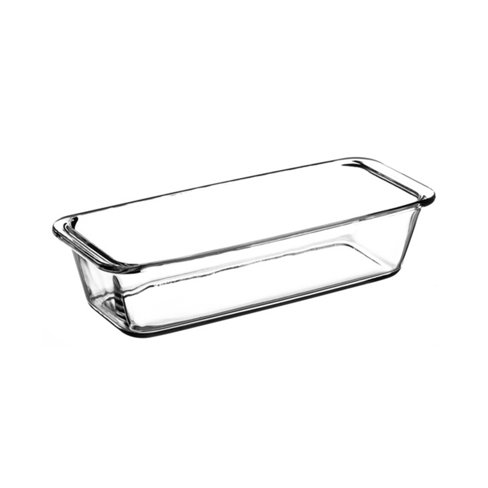 Nonstick Bakeware Glass Toast Pan, Kitchen Essential Premium Food Grade Borosilicate Glass Baking Dish for Toast Cake Baked Rice