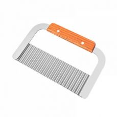 Universal Corrugated Knife for Vegetable Carrots Potato Cucumber, Kitchen Gadget Stainless Steel Wavy Cutter