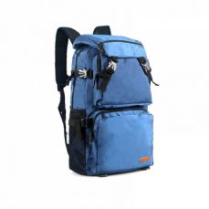 Waterproof Nylon Canvas Backpack for Outdoors Travel with Large Capacity