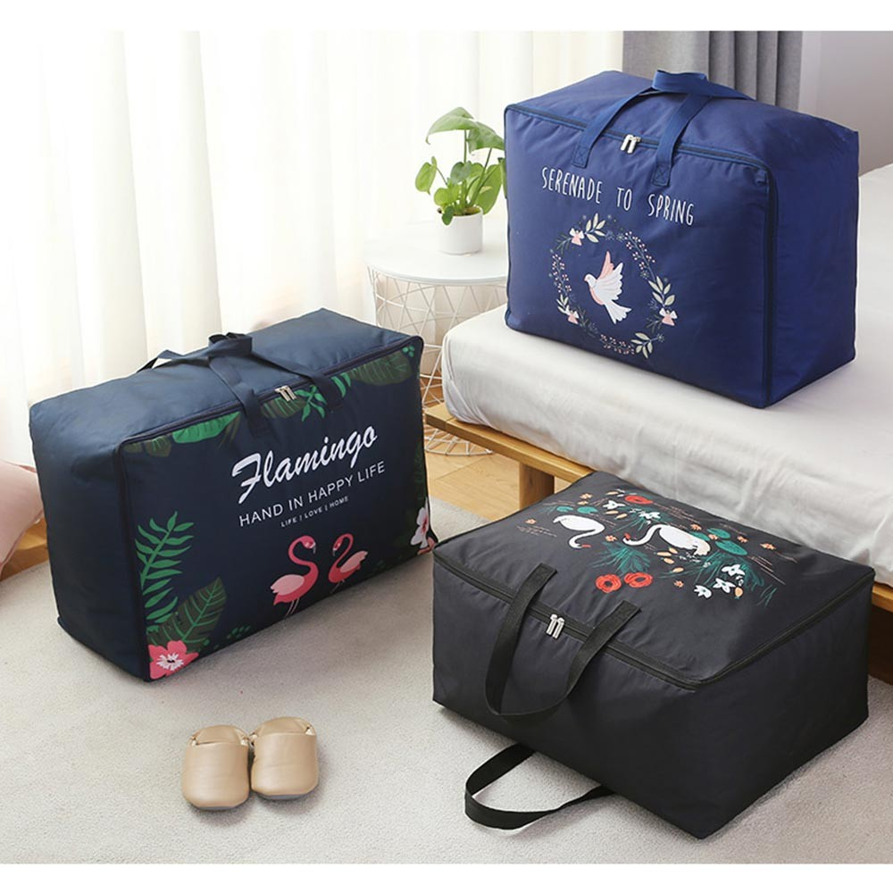 Multipurpose Organizer Bag for Garments Coats Quilts, Universal Fashionable Large Storage Bag Waterproof Acid-free