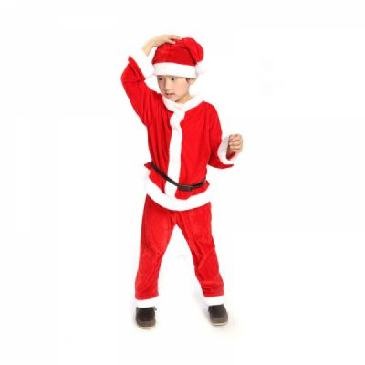 Christmas Suit.Children Christmas Costume Deluxe Plush Christmas Suit For Christmas Party Cosplay Party Family Gathering Stage Performance Christmas Costume Set