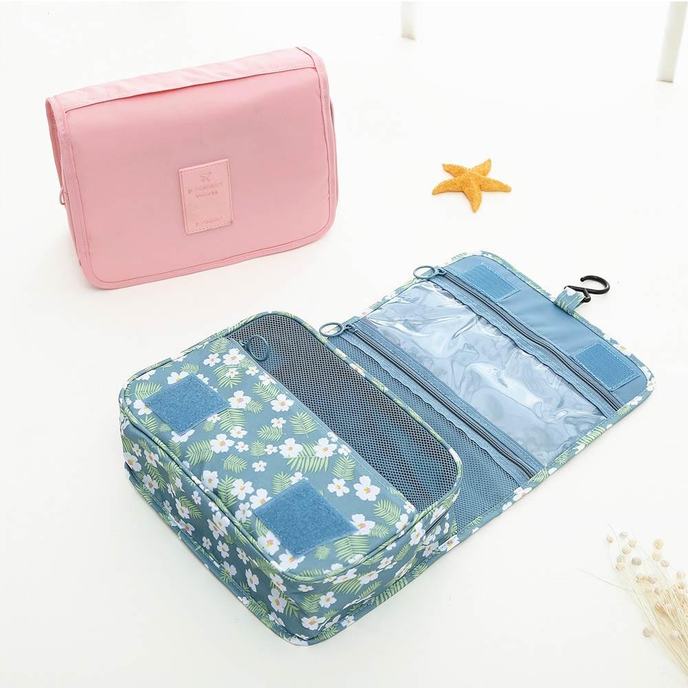 Toiletry Bag Multifunctional Cosmetic Bag Portable Makeup Organizer Bag Waterproof Travel Hanging Organizer Bag for Women Girls