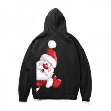 Christmas Fleece Hoodie for Adults, Non-fading No Pilling Santa Claus Fleece Sweater Shirts, Stylish Warm Christmas Fleece Hoodies