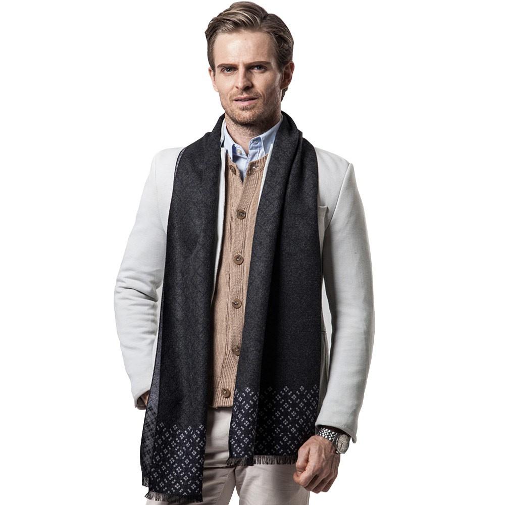 British Style Plaid Scarf for Men, Business Man, Gentleman, Unique Imitation Cashmere Plaid scarf, 2019 Brand New Men's Scarf