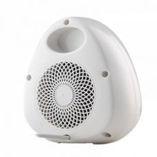 Mini Handy Heater, Streamlined Lovely Quiet Ceramics Three Gear Hot or Cold Air Winter Fan for Home Office Warmer